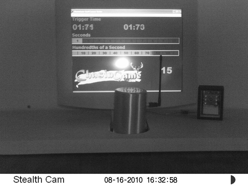 how to turn flash on stealth cam